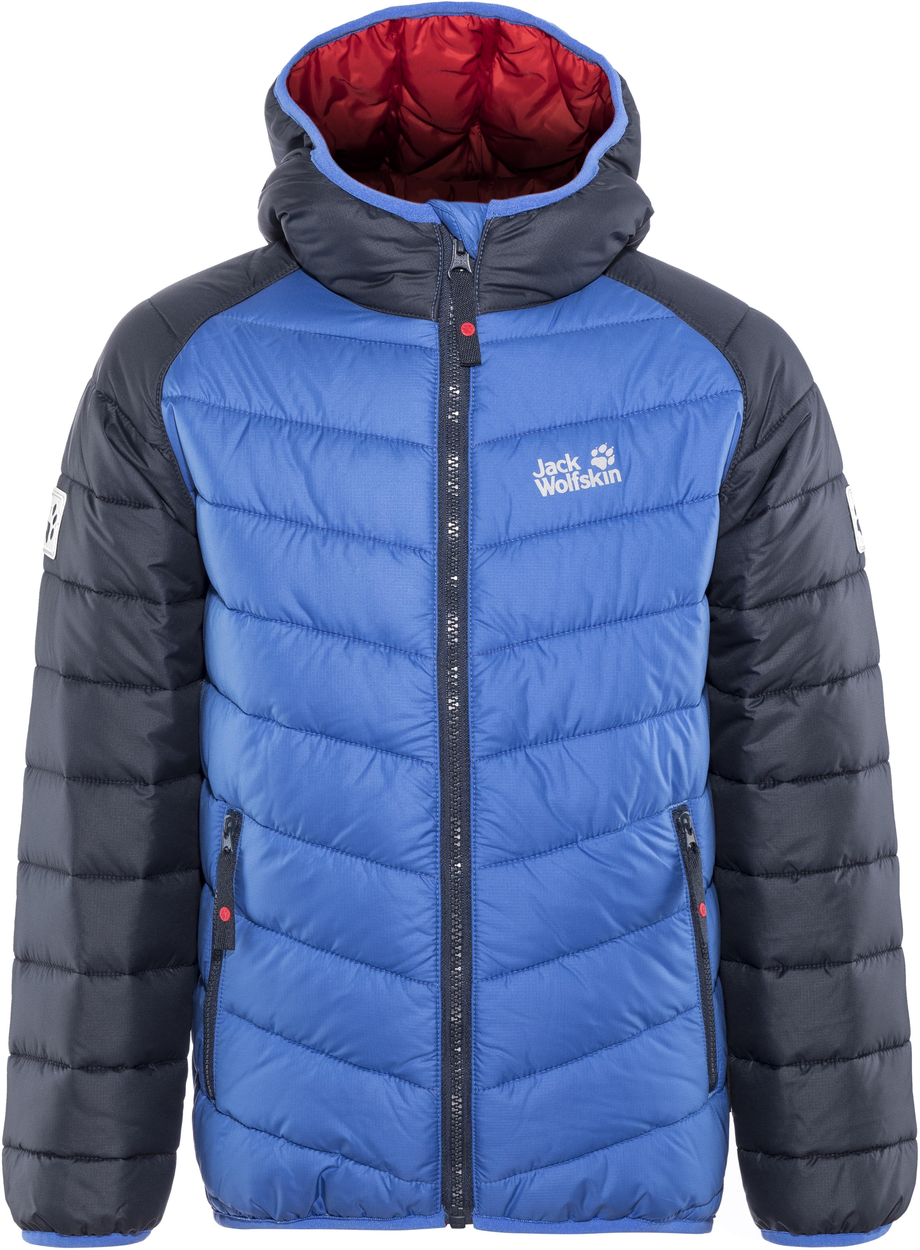 brand new 62650 bc0a5 Jack Wolfskin K Zenon Jacket Kinder coastal blue